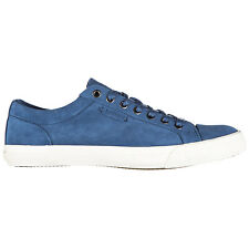 POLO RALPH LAUREN MEN'S SHOES SUEDE TRAINERS SNEAKERS NEW BLUE 370