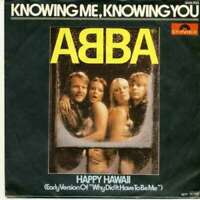 "ABBA Knowing Me, Knowing You 7"" Single inj Vinyl Schallplatte 53470"