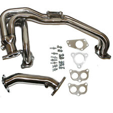 STAINLESS STEEL EXHAUST RACING HEADER FOR 02-06 IMPREZA WRX/STI GDB GG EJ20/EJ25