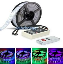 5M 1812 IC 5050 RGB 600LED Double row Multi-colored lights strip+RF controller