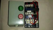 Dol starter 1 phase 230v or 3 phase 400volt coil, Electric motor overload fitted