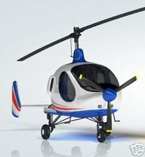 Smartflier GiRos AutoGyro Airplane Desk Wood Model Big