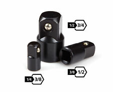 New 3PC AIR IMPACT ADAPTER SOCKET SET 3/8 - 1/2- 3/4 Sizes Power Drill