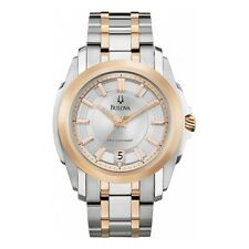 98B141  - Bulova Men's Two-Tone Watch - Precisionist Collection - RRP:  £339