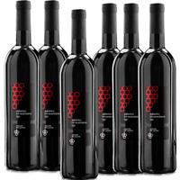 VINO ROSSO Aglianico IGP x 6 Bottiglie 0.75ml