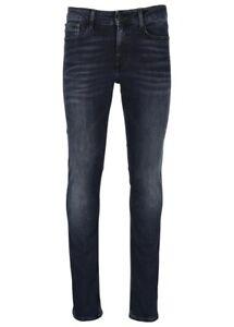 5 Taschen Hose Denim Schlank Calvin Klein Jeans Herren J30J305705 912 Dunkelheit