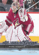 14/15 UPPER DECK YOUNG GUNS ROOKIE RC #203 MARK VISENTIN COYOTES *27873