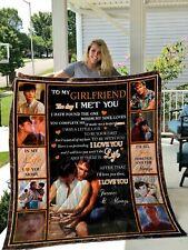 Ghost 1990 Girlfriend Quilt Blanket Gift For Fans