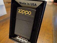 80'S - 90'S BLACK PLASTIC BOX DESIGN SERIES ZIPPO LIGHTER MINT IN BOX