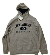 NWT New Colorado Avalanche Reebok Face Off NHL Playbook Hoodie Small Sweatshirt