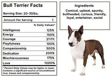 MINIATURE BULL TERRIER Facts Magnet