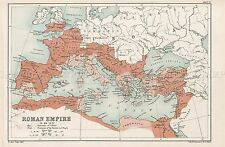 Mappa Repro Antico bartholemew 69ad ROMA IMPERO ROMANO GRANDE ART PRINT lf878