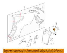 PORSCHE OEM 95-13 911 Quarter Panel-Wheel Fender Liner Nut 99904900740