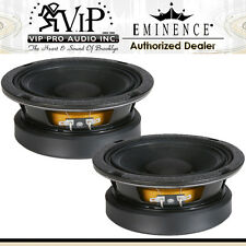 "Eminence Beta-6A 6-1/2"" High Power Midbass Midrange Woofer Speaker Pro (PAIR)"