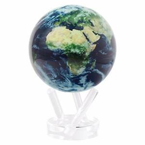 "Mova Earth with Clouds Globe 6"""