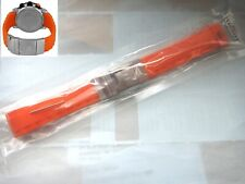 Tissot T TOUCH ORANGE SEA TOUCH 22mm Rubber silicon Band strap bracelet T026 420