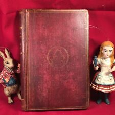 ALICE'S ADVENTURES IN WONDERLAND - Lewis Carroll  2nd Ed.1867- - signed