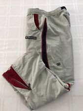 Abercrombie A/92 Youth XL? Nylon Vented Mesh Lined Athletic Track Pant Beige TS9