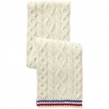 NWT Gant x Michael Bastian F/W 2012 Cable Knit Lambswool Tennis Scarf NEW