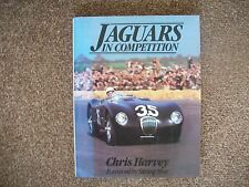 JAGUARS IN COMPETITION BY CHRIS HARVEY, OSPREY PUBLICATION.FIRST EDITION,1979