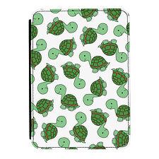 Turtle Tortoise Animal Zoo Kids iPad Mini 1 2 3 PU Leather Flip Case Cover