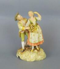 Antique Porcelain German Volkstedt Dresden Figurine of Young Couple
