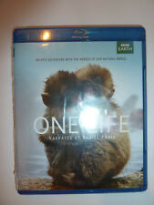 One Life Blu-ray BBC Earth nature documentary movie animals Daniel Craig NEW!
