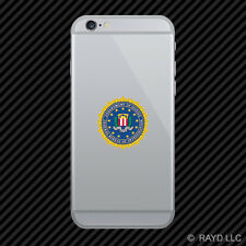 Department of Justice FBI Cell Phone Sticker Mobile federal bureau