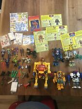 5 Exosquad E- Frames with 7 Figures, Cards and Accessories 1995 Playmates toys