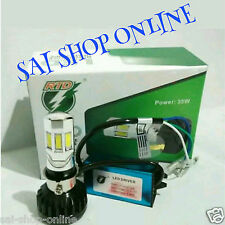 H4/H6 - 6 LED 35w M02 E HID Head Light Bulb 3500LM  Hi Low Beam  For Bike/Car