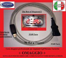 Cavo diagnosi usb Professionale per centraline Gpl/Metano Tartarini