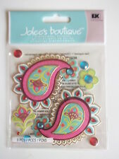 Jolee's Boutique 3D stickers - Paisley Patches - with flowers