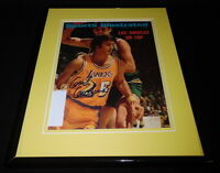 Gail Goodrich Signed Framed 1971 Sports Illustrated Magazine Cover Lakers