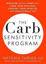 NATASHA TURNER - The Carb Sensitivity Program: New - Mint Hardcover