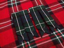 T C pour hommes KILT accesoire moderne Douglas écossais / Flashes Chaussettes