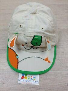 Vintage Baby Infant Spot Puppy Hat Cap  0-6 Months