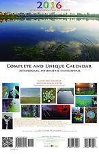2016 Calendar Complete & Unique Astrology Interfaith Inspiration Photography