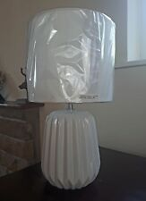 White Ceramic Table Lamp Minimal