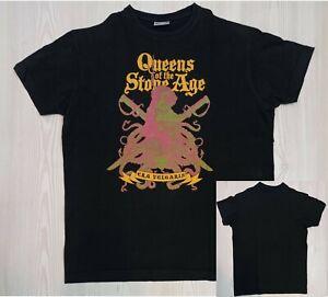T-Shirt QUEENS OF THE STONE AGE : Era Vulgaris 2007 (M)