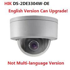 HIKVISION 3MP PTZ DS-2DE3304W-DE P2P 4X Optical Zoom Mini Dome Security Camera