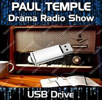 PAUL TEMPLE - OLD TIME RADIO SHOW DRAMA USB - 46 EPISODES MP3