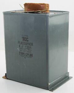TCC Plastapack 4uf at 350V DC Capacitor (GB6)