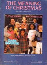 The Meaning Of Christmas(Sheet Music)IMP-UK-Good