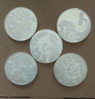 5 Jewish History Israel Bible Elijah Jonah Samson Josephus Commemorative Coin