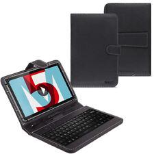 Huawei MediaPad M5 Lite Tablet Tasche USB Tastatur Keyboard Hülle Schutzhülle