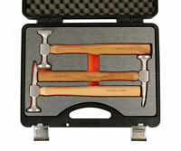 Power-TEC 92451 - Aluminium Head Hammer Set for Alloy Panel Repairs Toolkit