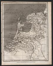 1809 ANTIQUE MAP - HOLLAND