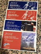 2005 & 2006 United States Mint Sets