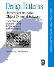 Design patterns elements of reusable object-oriente Book by Erich Gamma Hardback