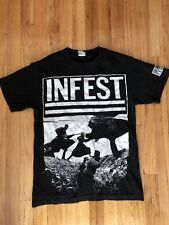 Infest Shirt S Iron Lung Powerviolence MITB Charles Bronson Spazz Slap A Ham